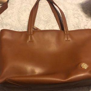 Hazelnut Leather Tote Vince Camuto Handbag